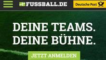 FUSSBALL.DE - Deine Teams. Deine Bühne.